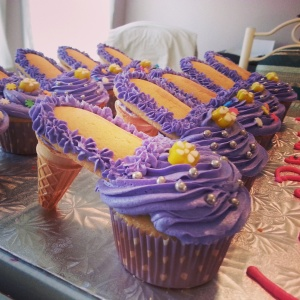 Princess Shoe Cupcake