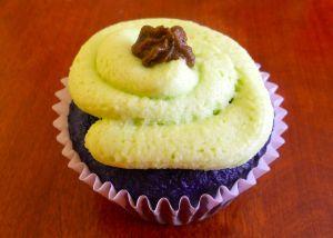 purple cupcake