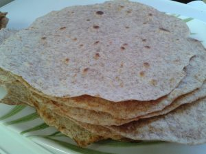 Whole Wheat Flour Tortilla