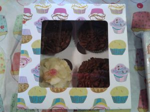 My First box of cupcakes I sold!
