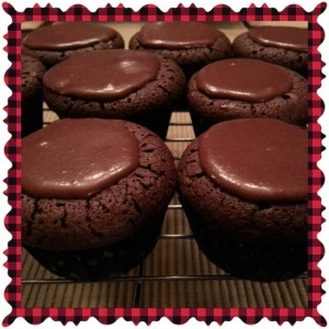 Who would have thought a cupcake without flour would taste so good!