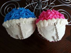 Umbrella Cupcake for Baby Shower
